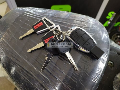 Электроскутер Citycoco x8-2 обновленные ключи