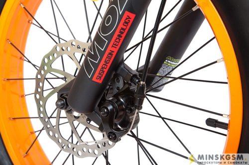 Электровелосипед Cyberbike Fat 500W передний тормоз