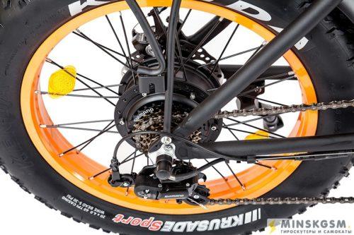 Электровелосипед Cyberbike Fat 500W переключение скоростей