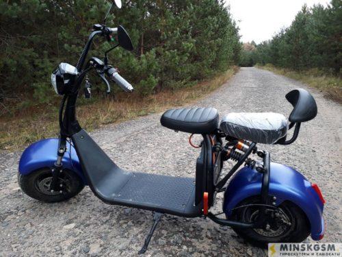 электросамокат ElectroDrive Citycoco SMD X7 синий