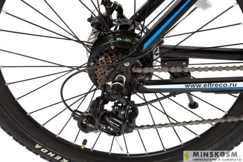 Электровелосипед Eltreco FS 900 задний тормоза и звездочки
