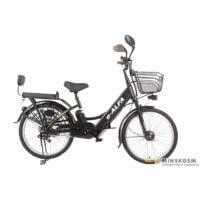 Электровелосипед Green City e-Alfa черный