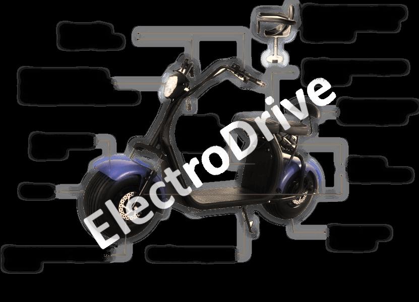 Электросамокат ElectroDrive CityCoco SMD X7